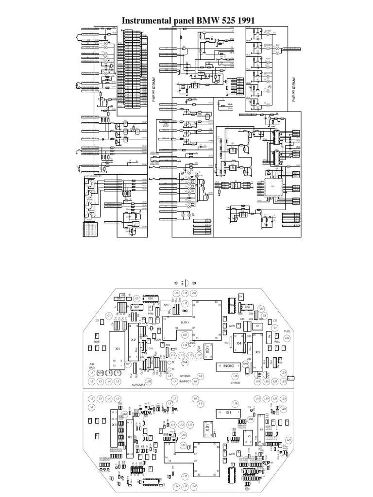 bmw 525 diagrama de cableado