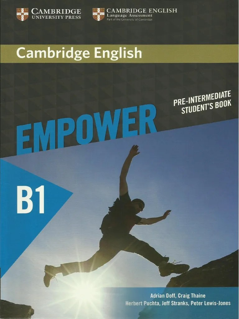 Libros B2 Ingles Pdf Cambridge English Empower Pre Intermediate B1 Student S Book
