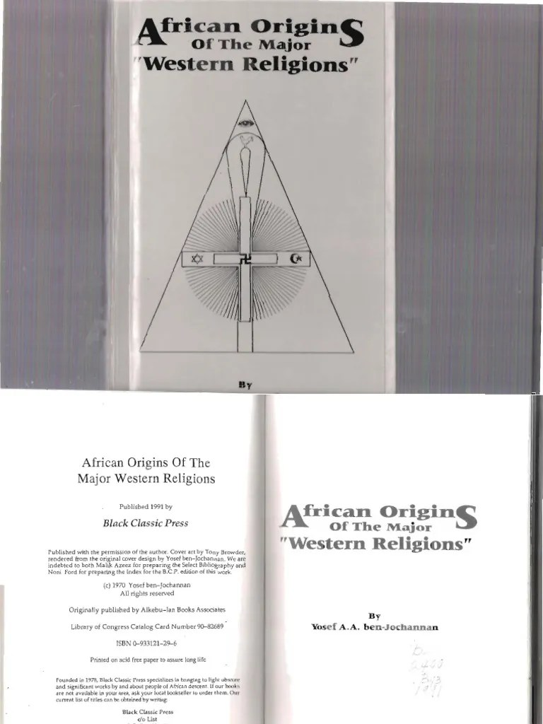Kaminofen Hase Cita African Origins Of The Major Western Religions Pdf Haitian Vodou