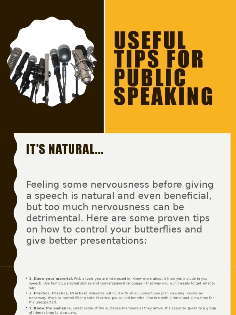 Public Speech Tips Public Speaking Tips Psychology Cognitive Science