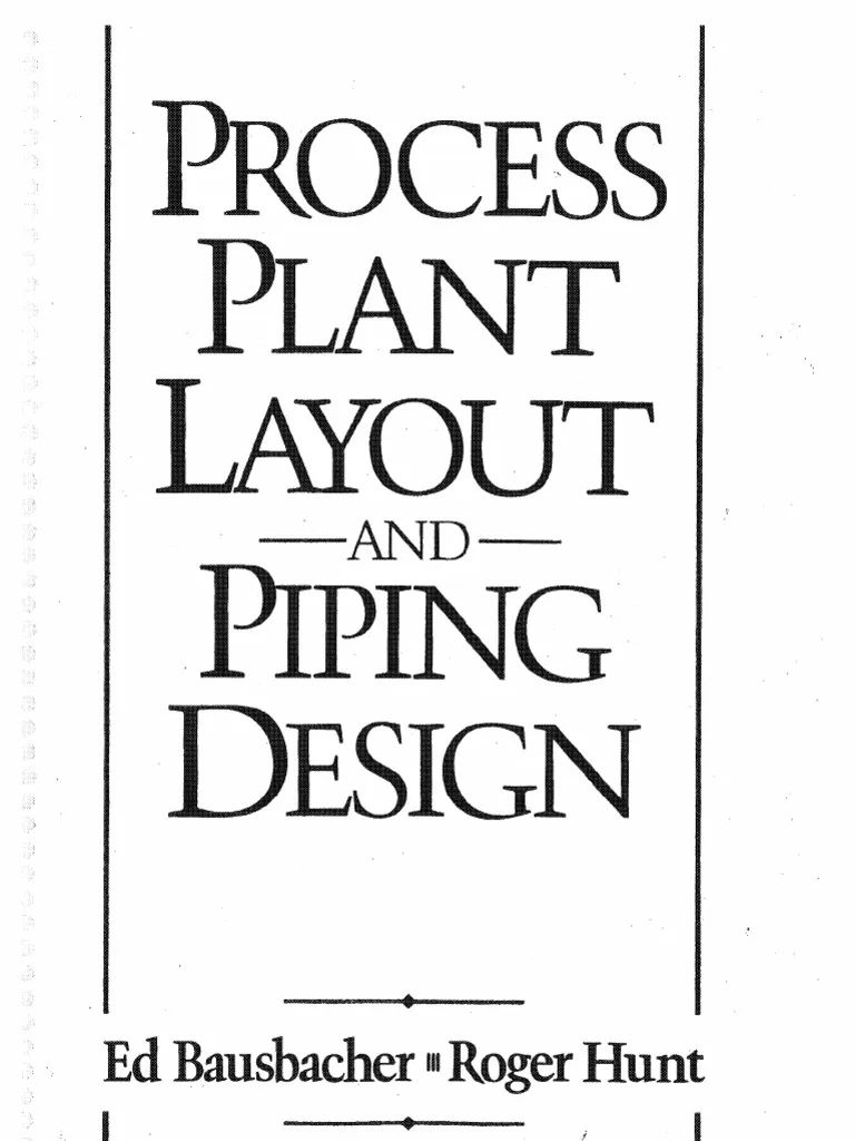 piping layout design book