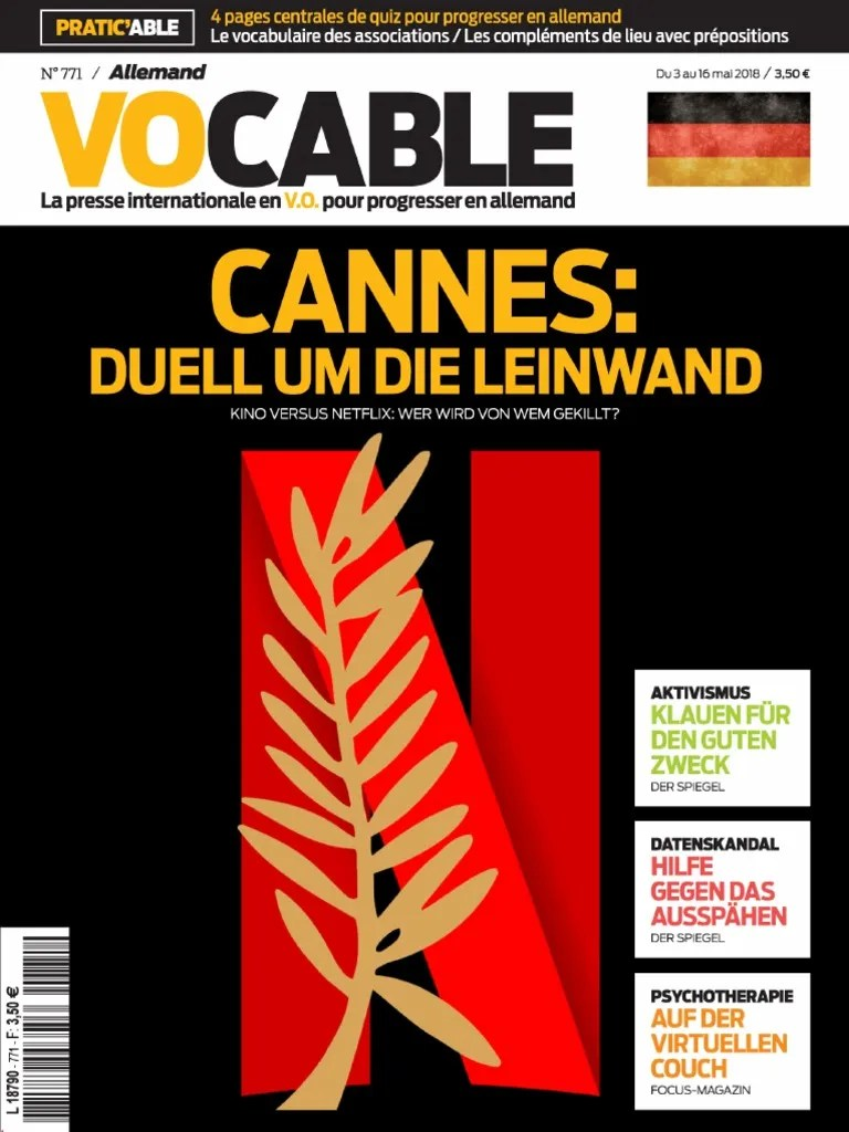 Vocable Allemand 03 Mai 2018 Loisirs