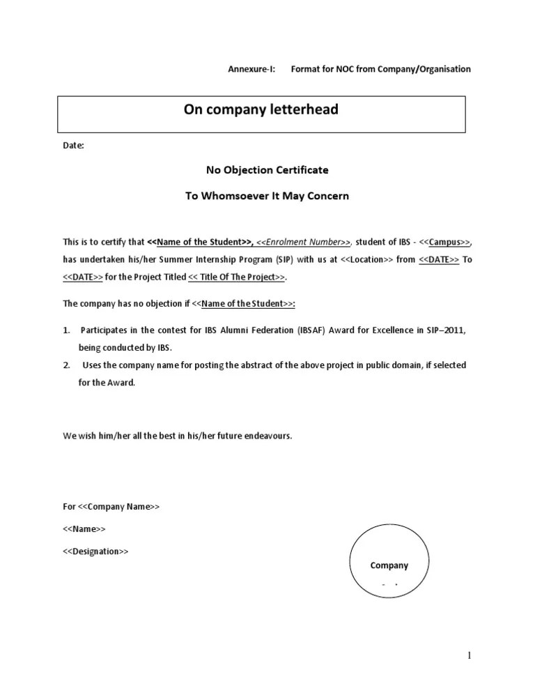 No objection letter format for bank example good resume template no objection letter format for bank template transfer or change of ownership no objection format of spiritdancerdesigns Gallery