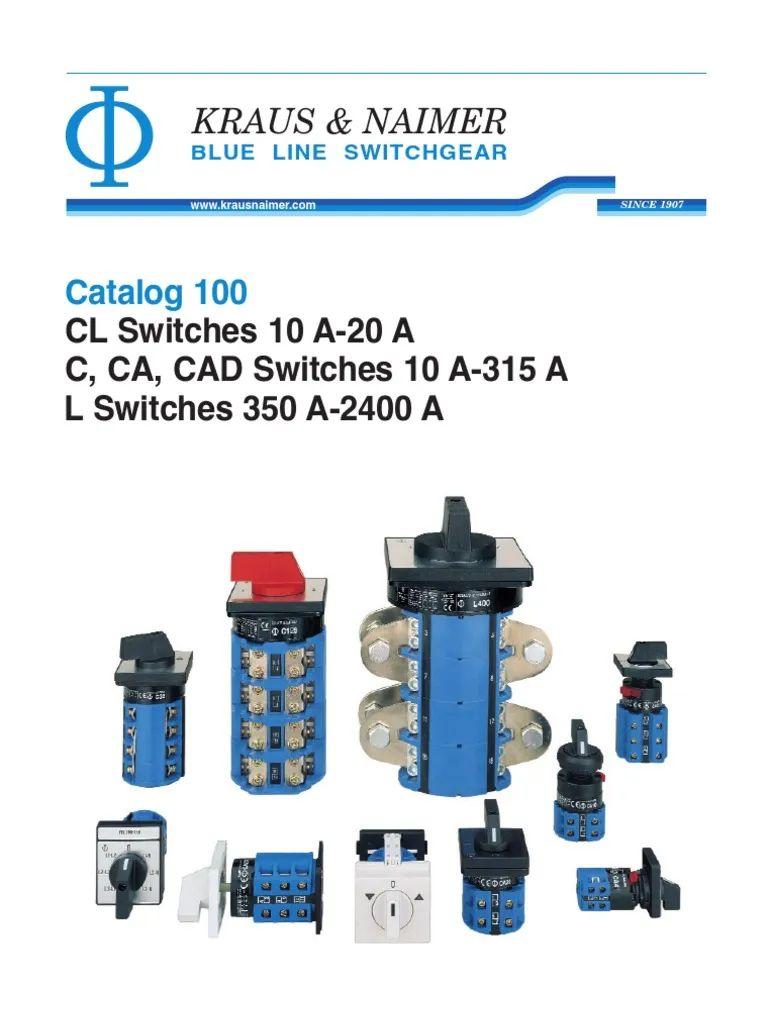 Krau Naimer Ca 10 Switch Wiring Diagram Auto Electrical Selector