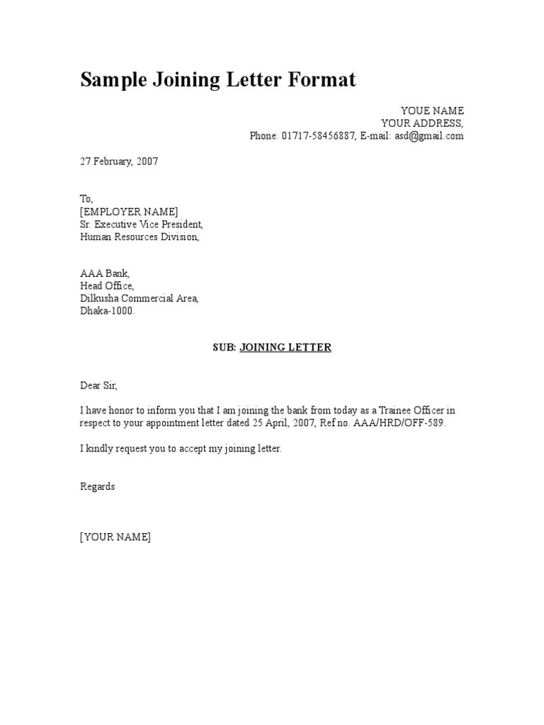 Sample Appointment Letter In Hindi – Sample Appointment Letter