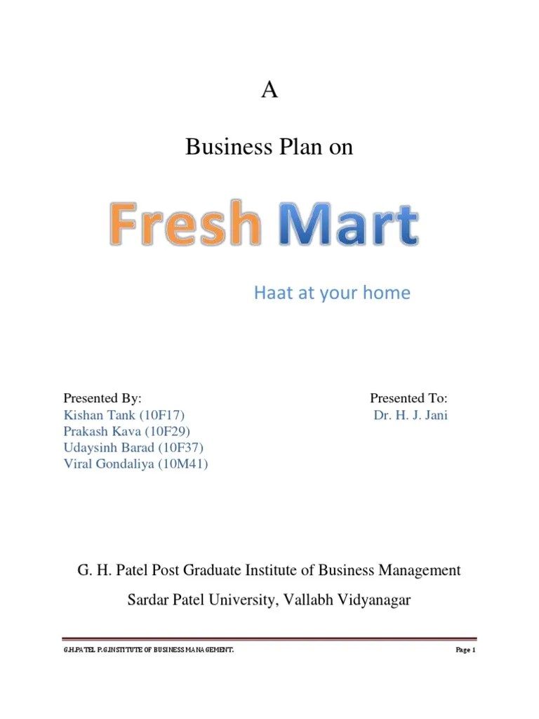 Business Plan On Fruits And Vegetable Supply Chain Retail Vegetables