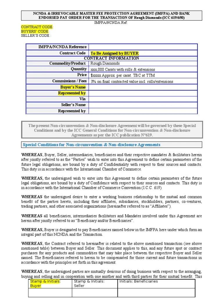 Export Contract Sample sample contract sample contract – Export Agreement Sample