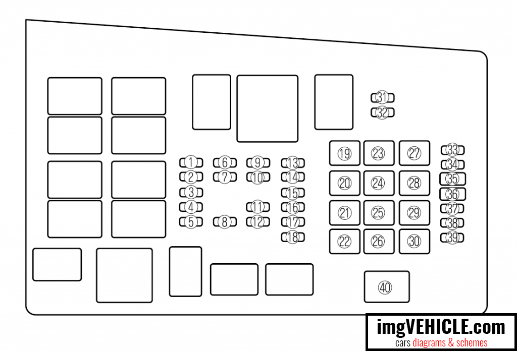 2006 mazda 6 interior fuse box diagram