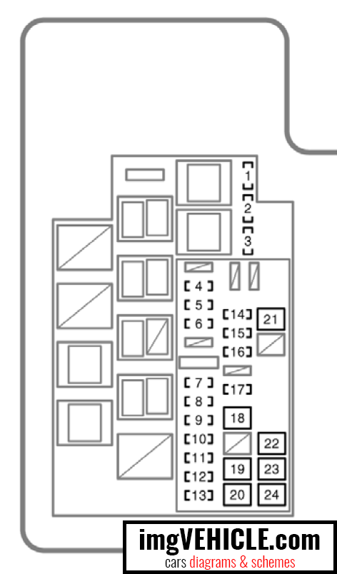fuse diagram 2012 rav4