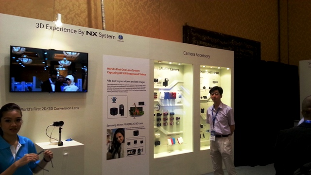 NX System - Single Lens 3D Camera