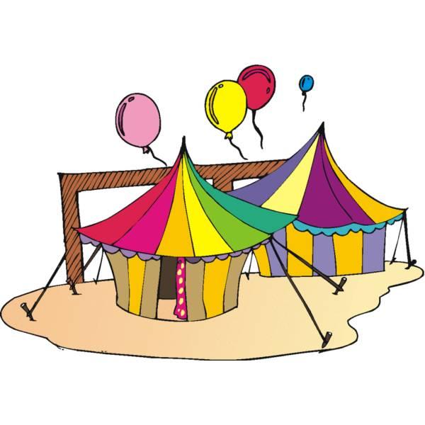 Disegno di Il Circo a colori per bambini