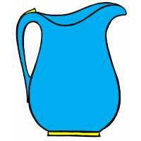 Disegno di Brocca da colorare per bambini ...