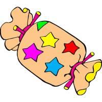 Disegno di Caramella a colori per bambini ...