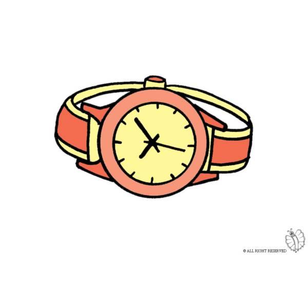 Orologio Disegno Colorato