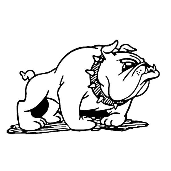 Disegno Di Bulldog Da Colorare Per Bambini
