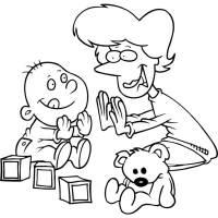 Disegno di Giochi per Bimbi da colorare per bambini ...