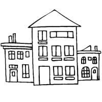 Disegni Di Case Da Colorare E Stampare Casa Da Stampare