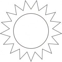 Disegno Da Colorare Cielo E Sole