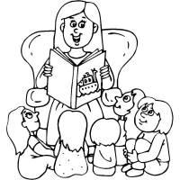 Disegno di Racconti di Fiabe da colorare per bambini ...