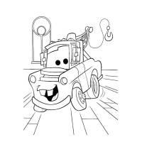 Disegno di Cricchetto Cars da colorare per bambini ...