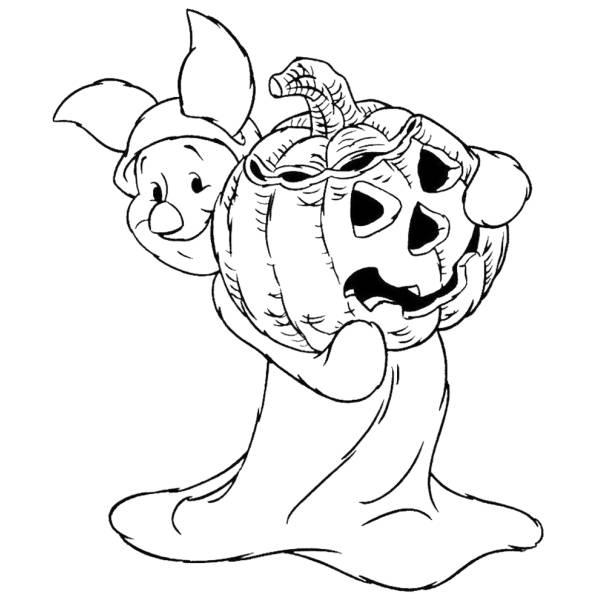 Disegno Di Pimpi Hallowen Da Colorare Per Bambini