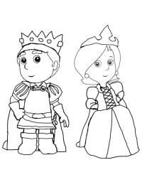 Il Piccolo Principe Nel Giardino Di Rose Disegno Da