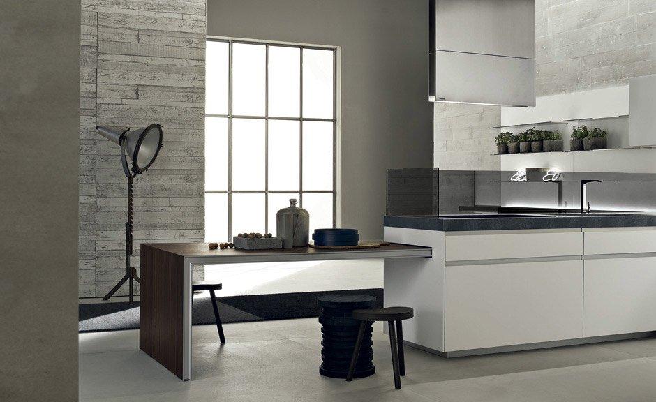 Ernestomeda Küchenmöbel Küche Icon Designbest - moderne einbaukuche besticht durch minimalistische asthetik