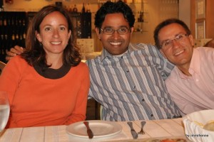 Melisa, Anil and immi
