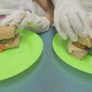 Vegan zucchini meatballs sub (vegan)