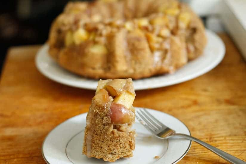 apple olive oil cake 15