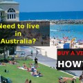 Need to live in Australia?