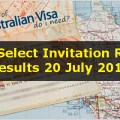 Skill Select Invitation Round Results 20 July 2016