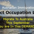 Australian Immigration occupations list