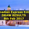 Canadian Express Entry DRAW RESULTS - 8th Feb 2017