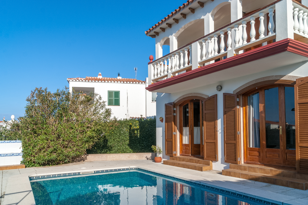 Mamorboden Wonderful Villa With Private Pool On A Garden Plot In Port D