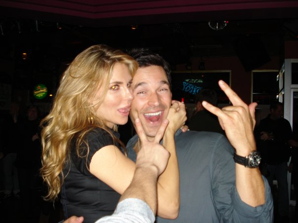 Eddie Cibrian & Brandi Glanville