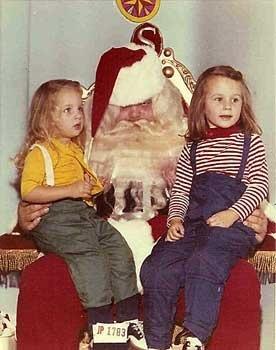 Creepy Criminal Santa Picture