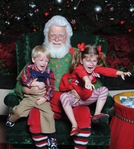 Mall Santa gone wrong, Funny