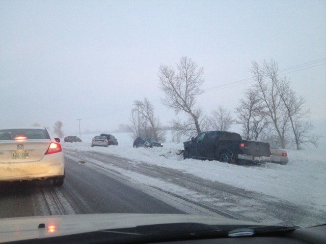 Highway 1 accident Regina Moosejaw