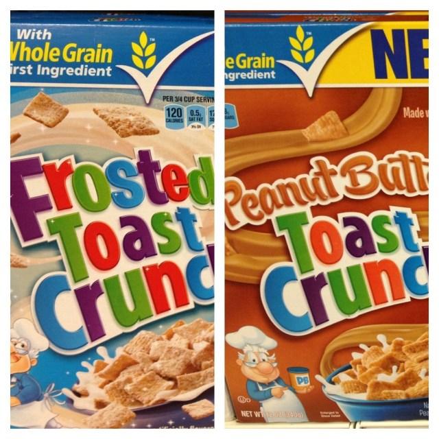 PB Toast Crunch NEW