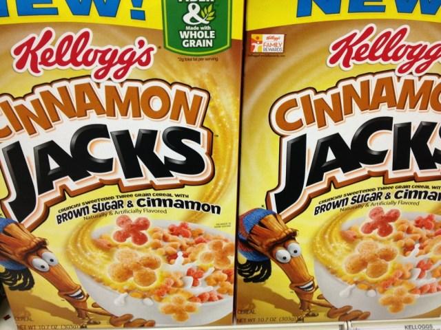 New Cereal Cinnamon Jacks