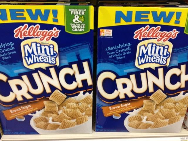 New Mini Wheats Crunch