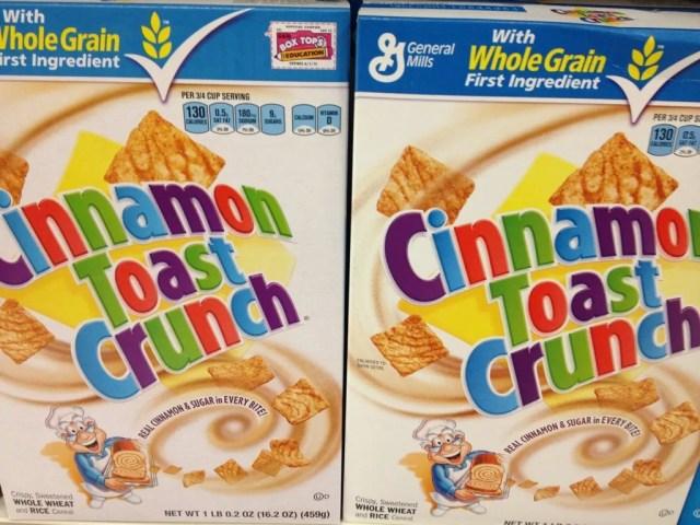 Cinnamon Toast Crunch Boxes