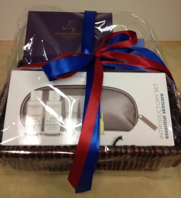 Stillwater spa Giveaway Basket Image