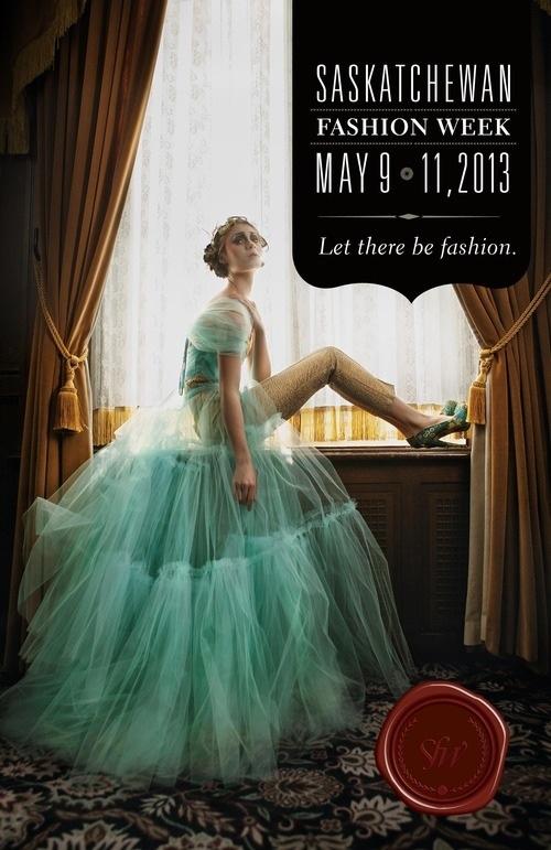 Sask fashion Week Print campaign 2013