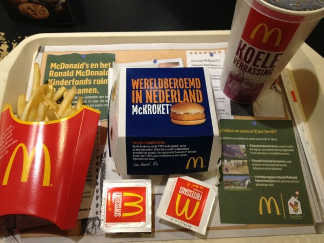 McKroket McDonalds Holland