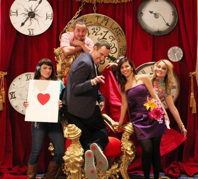 Alice in Wonderland Themed party PalliserCalgary Mr FAB (5)