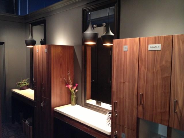 Barre Body Studio Calgary change room FAB