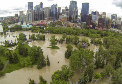 Princess Island Park Flooded 1