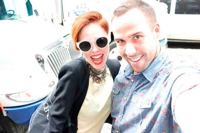 Coco Rocha and Mr.Fab (Large)